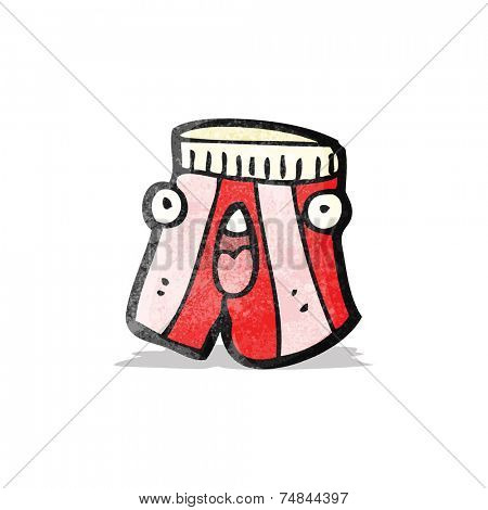 underpants cartoon character