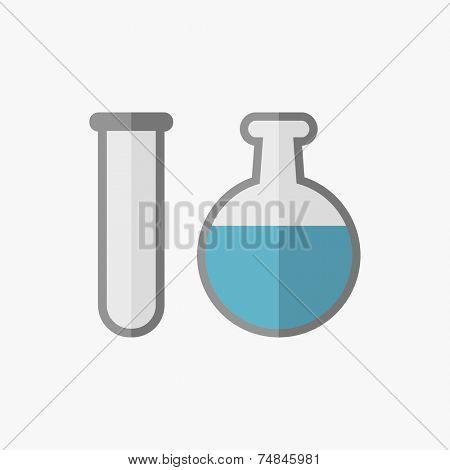 Biochemistry Flat Icon