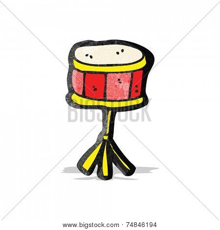 cartoon snare drum