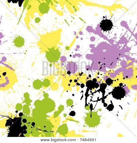 Blots Pattern 4