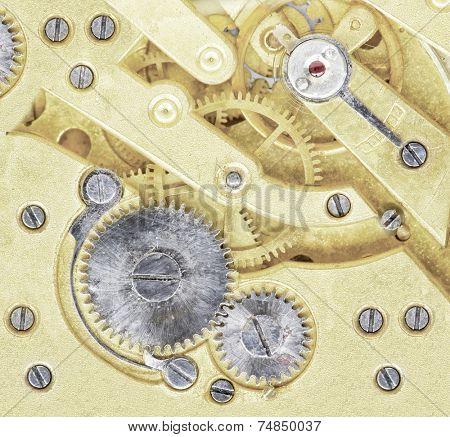 golden clockwork.