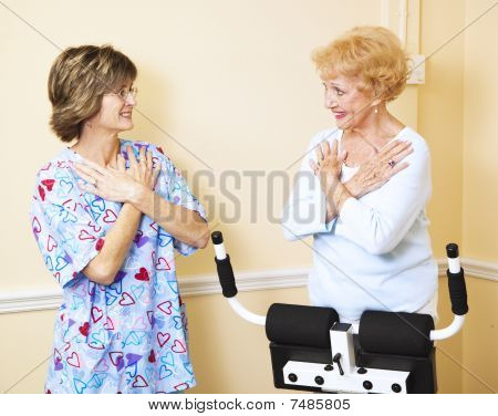 Working With Physical Therapist
