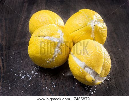 Preserved Lemons Salted Like In Morocco