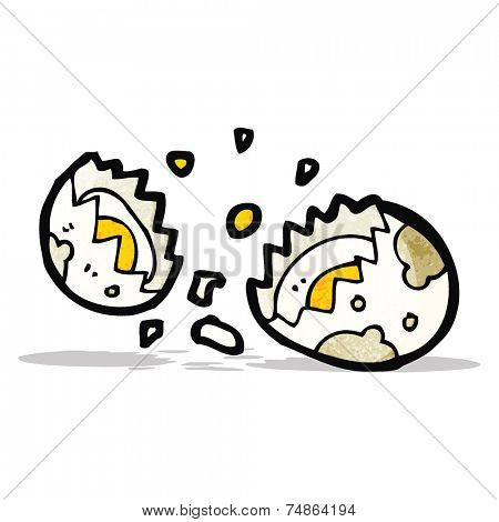 boiled egg cartoon