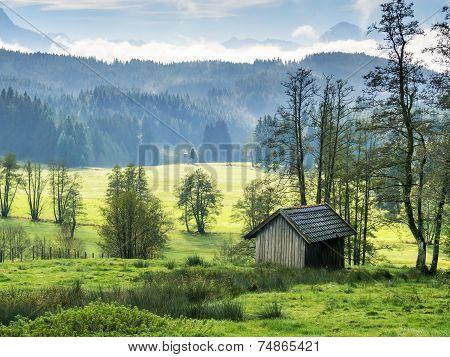 Bavarian Landscape Allgau