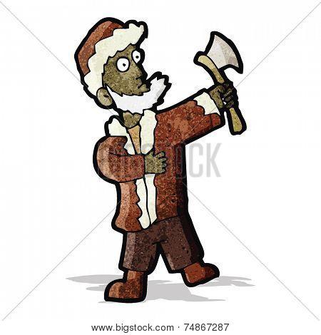 cartoon woodsman