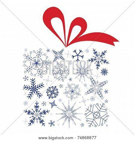 Christmas Snowflakes Gift