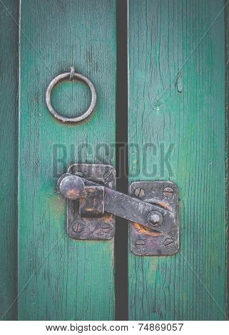 Retro Rustic Door Latch