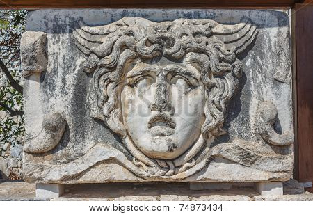 Head Of Gorgon Medusa