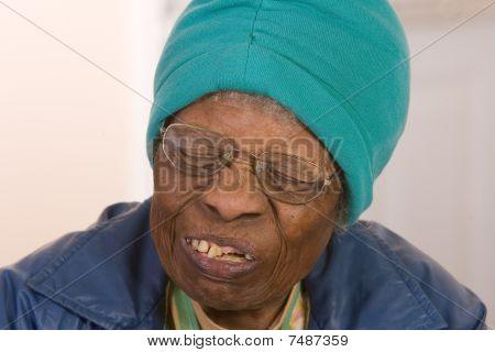 African American Senior Citizen Woman