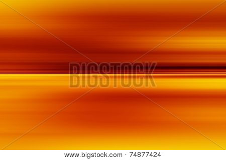 Abstract Orange Background. Horizontal Lines And Strips.