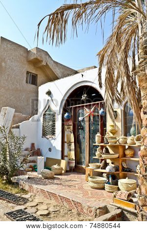 Souvenir Shop In Dahab, Egypt