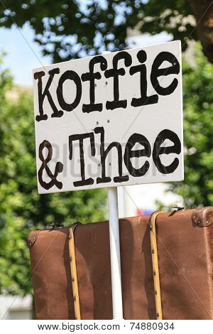 Coffee And Tea Sign