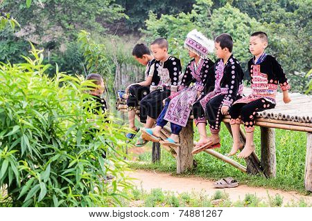 Hmong Children.