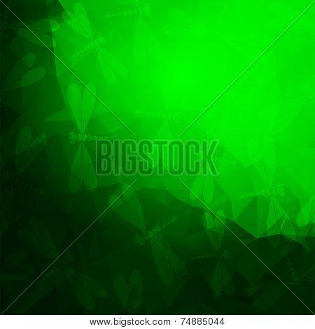 Bright Green Frame