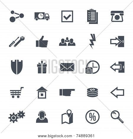 Icons Navigation Online Store