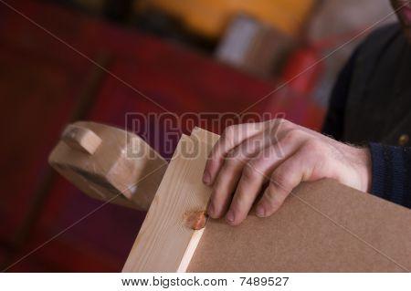 Carpenter Making Wardrobe Doors