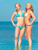 pic of denude  - In Bikini Couple Relaxating  - JPG