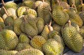 stock photo of south east asia  - Durian the world
