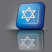 Постер, плакат: Израиль кнопка