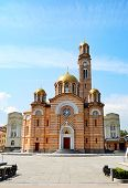 pic of luka  - Front view of Cathedral of Christ the Saviour Banja Luka - JPG