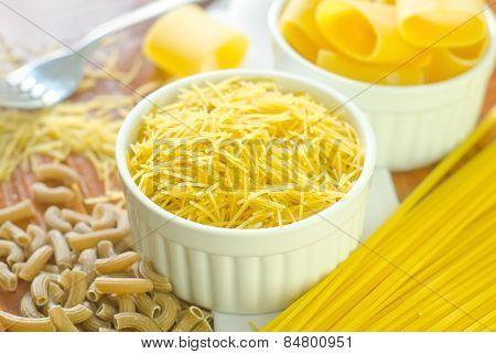 raw pasta