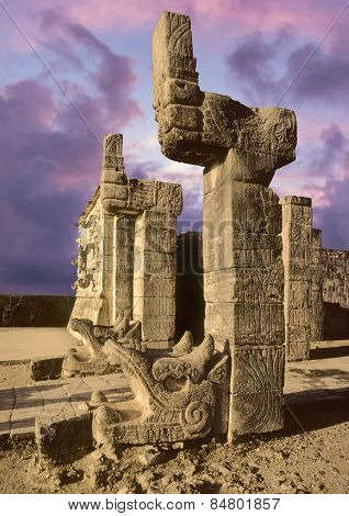 Chichen Itza temple, Mexico