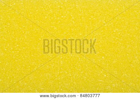 Yellow sponge, a background or texture