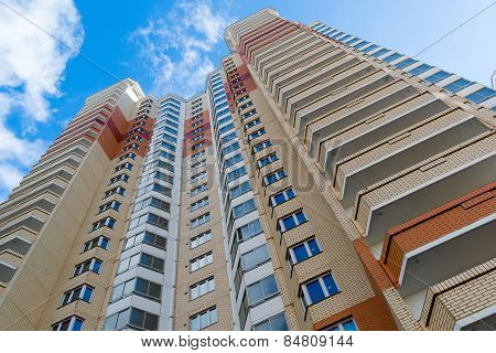Modern Multistory Residential Buildings