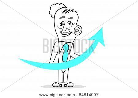 Vector Business Man
