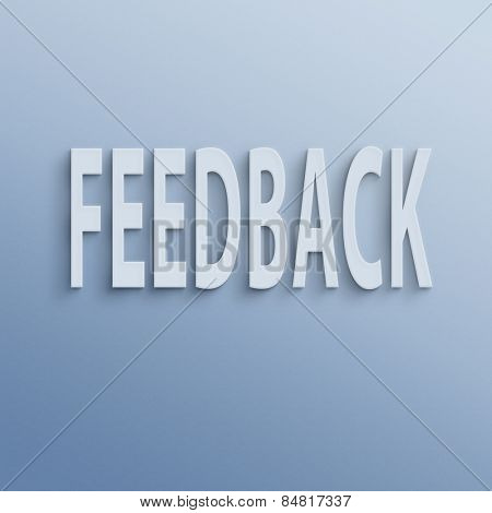 text on the wall or paper, feedback