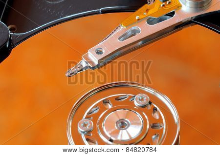A Hard Disk Drive Is A Data Storage Device Used For Storing And Retrieving Digital Information Using