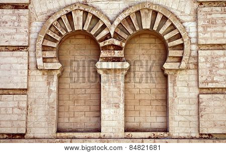 Double Niche In Old House In Cadiz