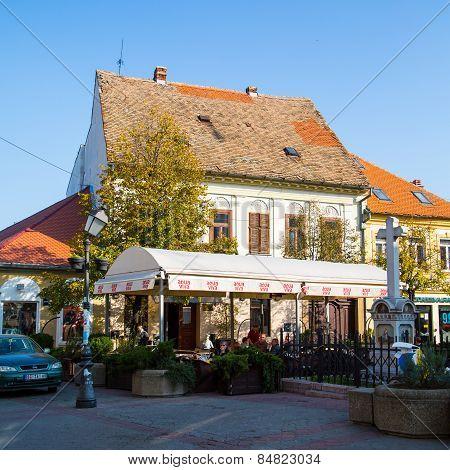 Cafe In The Center Of Zemun Part, Belgrade