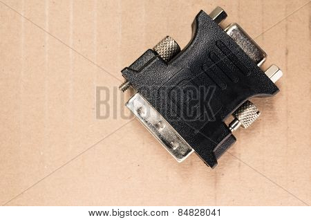 Dvi Type Connector