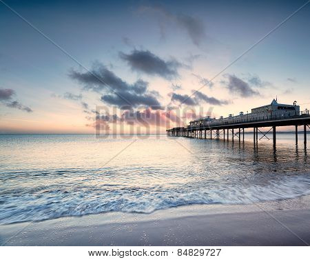 Dawn At Paignton