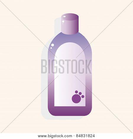 Pet Shampoo Theme Elements Vector,eps10