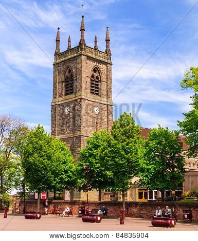 St Mary's church in Ilkeston