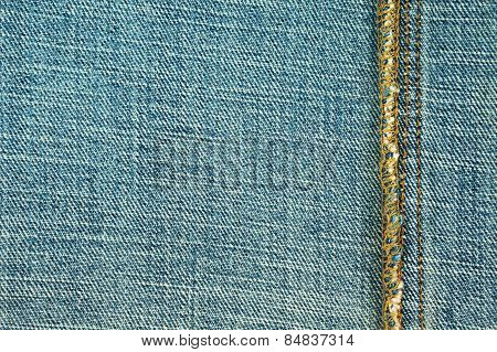 Jeans With Seam