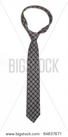 Necktie on White
