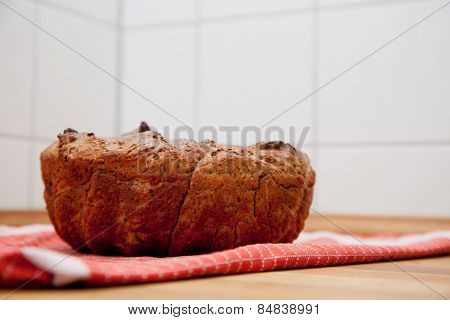 Selfbaked Bread In Guglhupf Shape