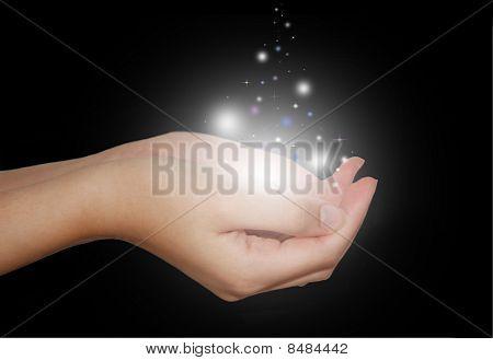 Mãos mágicas