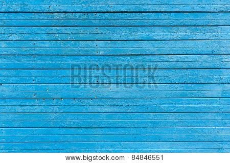 Painted Wooden Planks Background