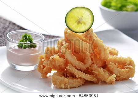 Crispy Fried Calamary