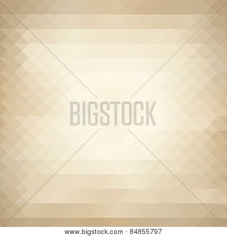 Beige Triangles Background
