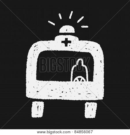 Doodle Ambulance