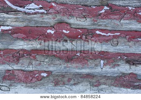 Red Weathered Paint