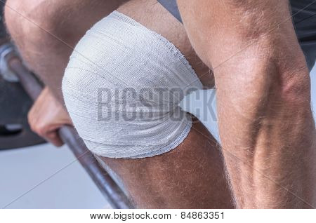 Knee Wrap For Weightlifting