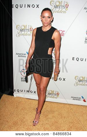 LOS ANGELES - FEB 21:  Lolo Jones at the 3rd