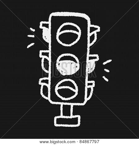 Doodle Traffic Lights